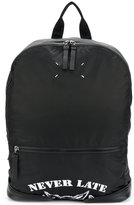 Maison Margiela packable printed backpack - men - Calf Leather/Polyamide - One Size