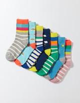 Boden 7 Pack Sock Box