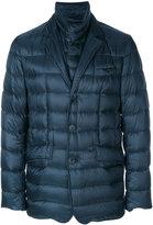 Herno padded blazer-style jacket - men - Polyamide/Virgin Wool/Feather/Goose Down - 46