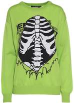 Jeremy Scott Intarsia Wool Sweater