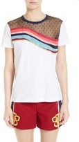 RED Valentino Women's Rainbow Wave Jersey Tee
