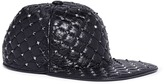 Valentino 'Rockstud Spike' lambskin leather baseball cap