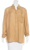 Etoile Isabel Marant Prune Button-Up Top w/ Tags