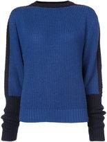 Preen by Thornton Bregazzi contrast sleeve jumper
