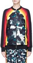 NO KA 'OI No Ka'Oi 'Nalani' stripe camouflage print track jacket