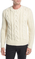 Belstaff Holmesdale Cable-Knit Sweater
