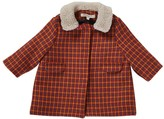 Caramel Baby & Child Larimar Fur Collar Coat