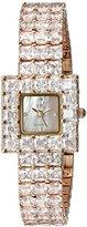Adee Kaye Women's AK28N-LRG Sparkle Analog Display Quartz Rose Gold Watch