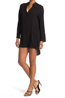Velvet Torch High/Low Shirt Dress