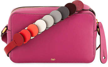 Anya Hindmarch Crossbody Mini Circle Leather Bag