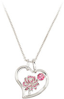 Disney Belle Crystal Rose Necklace by Arribas