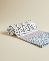 Ted Baker Geo Mash Up Cotton Hand Towel