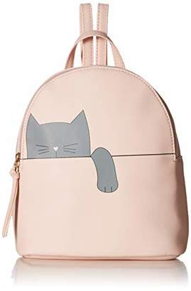 T-Shirt & Jeans Womens Hanging Cat Backpack in