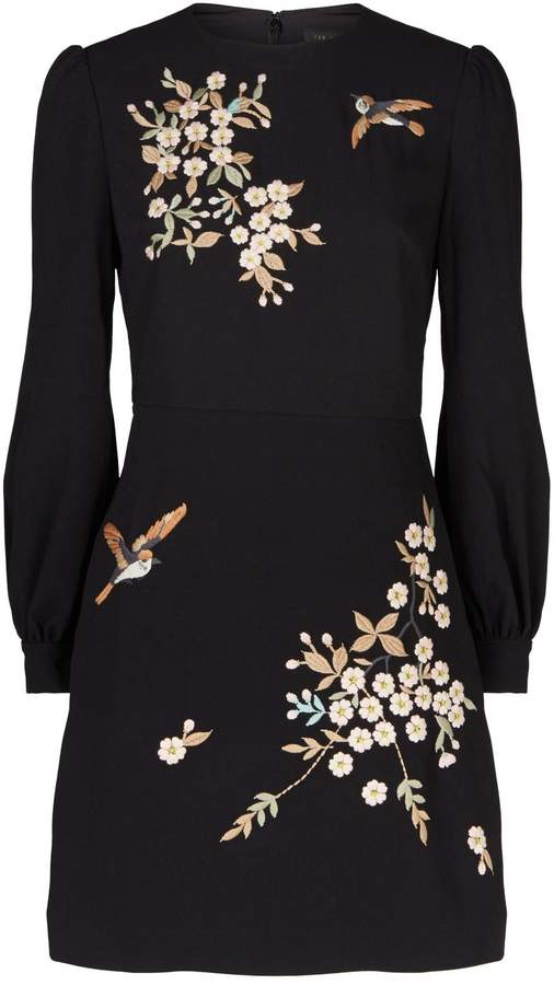 Ted Baker Embroidered Lillien Dress