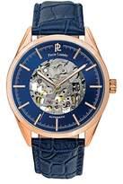 Pierre Lannier – 307 °C066 – Weekend Analogue Automatic – Watch Men – Automatic – blue dial – Blue Leather Bracelet