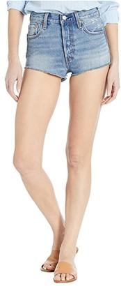 Levi's Premium Premium 501 Micro Shorts (Mini Short) Women's Casual Pants
