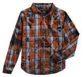 Buffalo David Bitton Boy's Stained Cotton Button-Down Shirt