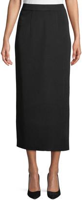 Misook Plus Size Long Straight Skirt