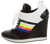 Ruthie Davis Course Wedge Sneakers