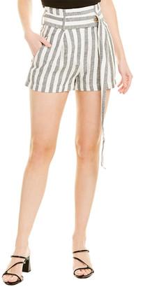 IRO Lula Linen Mini Short
