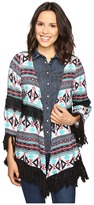 Rock and Roll Cowgirl 3/4 Sleeve Kimono B4-8386