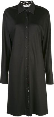 Diane von Furstenberg button up shirt dress