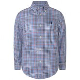 Ralph Lauren Ralph LaurenBoys Blue Multi Check Shirt
