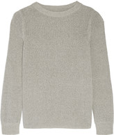 Enza Costa Cotton-blend sweater
