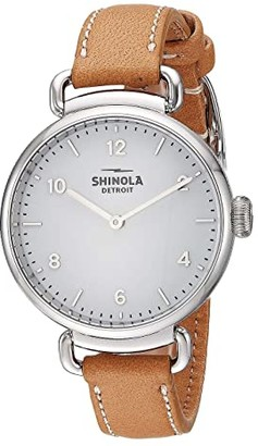 Shinola Detroit Canfield - 20141286 (Cloud Blue Glossy Enamel Dial) Watches