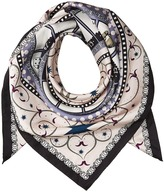 Tory Burch Game Silk Square Scarf Scarves