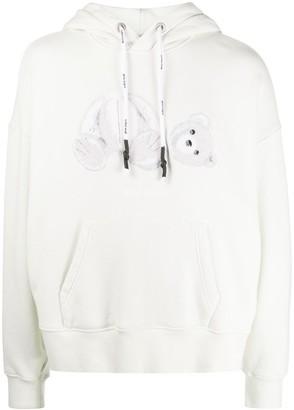 Palm Angels Teddy Bear Hooded Sweatshirt