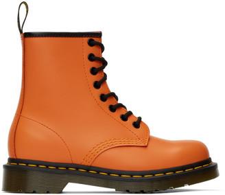 Dr. Martens Orange 1460 Boots