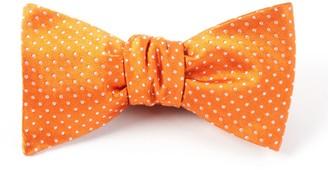 The Tie BarThe Tie Bar Tangerine Pindot Bow Tie