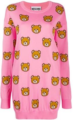 Moschino Teddy Bear knitted dress