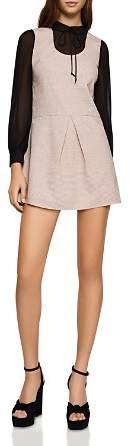 BCBGeneration Layered-Look Drop-Waist Dress