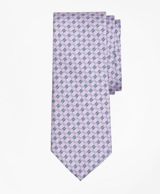 Brooks Brothers Rope Link Print Tie