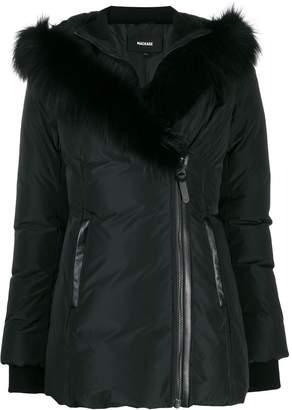 Mackage fox fur trim hooded jacket
