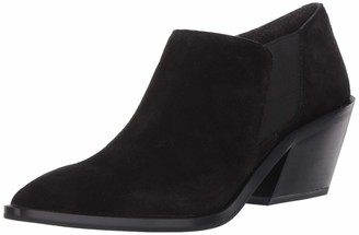 Franco Sarto Womens Bleecker Black Booties 7.5 M