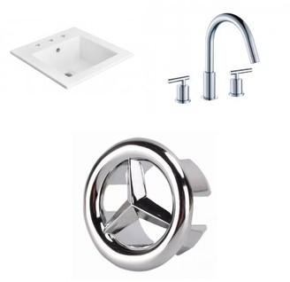 """Avanities 21"""" Single Bathroom Vanity Top Avanities"""