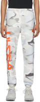 Heron Preston Multicolor Camo Spray Style Lounge Pants