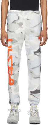 Heron Preston Multicolor Camo Spray Style Lounge Pants