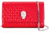 Philipp Plein 'Mad' clutch - women - Calf Leather/Polyester - One Size