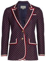 Gucci Geometric G Iconic Jersey Jacket