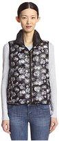 Betsey Johnson Women's Reversible Puffer Vest