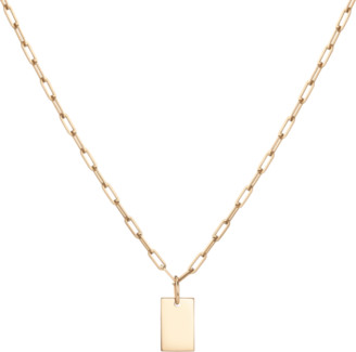 AUrate New York Aurator Small Tag Pendant