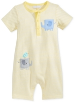 First Impressions Striped Elephant Romper, Baby Boys (0-24 months)