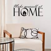 Mirrorin Make Yourself At Home Wall Sticker