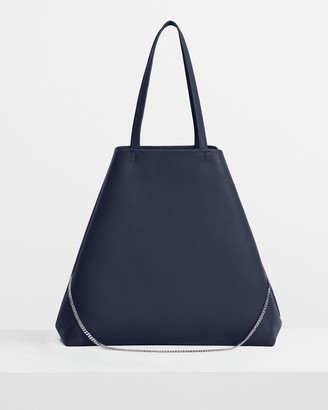 Theory Simple Tote in Leather