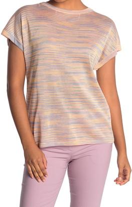 M Missoni Striped Crew Neck T-Shirt