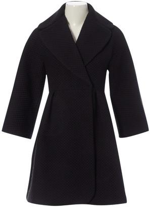 Giambattista Valli Black Cotton Coat for Women